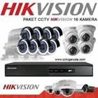 Paket Kamera CCTV 16 Chanel 1