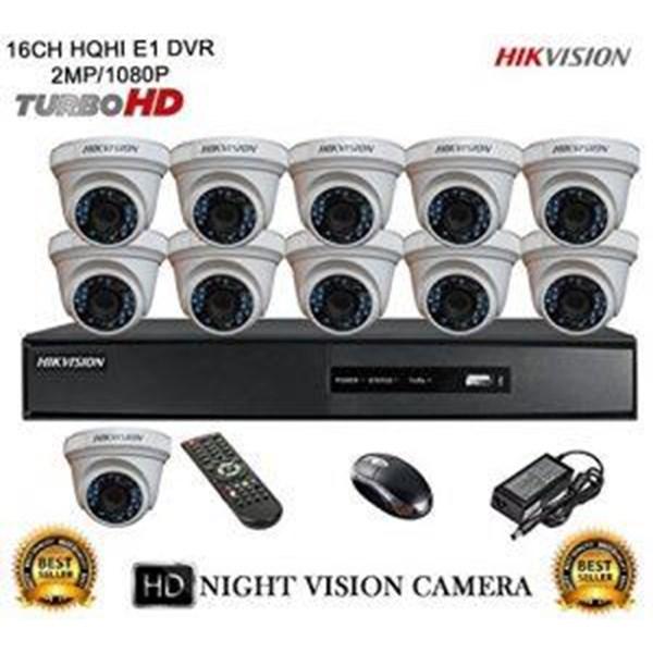 Paket Kamera CCTV 16 Chanel