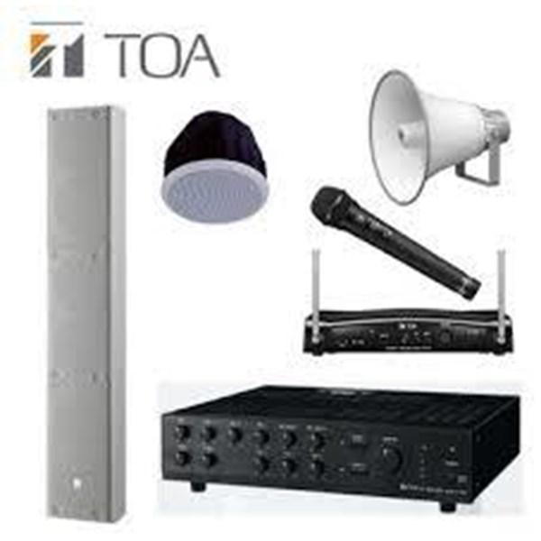 Peralatan Sound System TOA Speaker