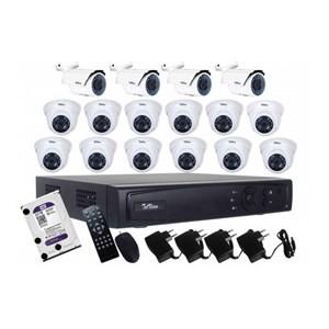 Paket Kamera Telview 16 Chanel