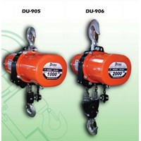 DUKE Electric Chain Hoist DU-905 & DU-906 1