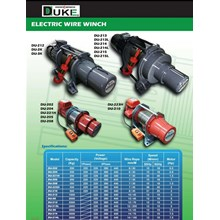 DUKE Electric Wire Winch