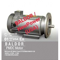 BALDOR and NewPower Permanent Magnet DC Motor