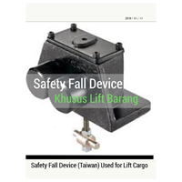 Jual Lift Fall Safety Device