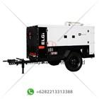 Kompresor Angin Proyek Trailer Sand Blast ELGI PG 400-100 1