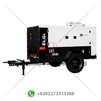 Kompresor Angin Proyek Trailer Sand Blast ELGI PG 400-100
