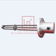 Triple Elements Immersion Heater With Flange