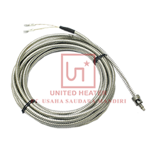 THERMOCOUPLE TYPE J WITH BAYONET & FLEXIBLE CONDUIT SLEEVE