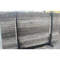 Distributor Travertine Grey Slab (Tv 17) Travertine Import 3