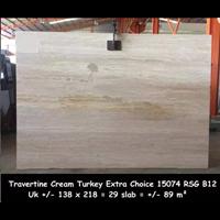 Distributor Travertine Slab Cuci Gudang Travertine Turky 3