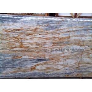 Onix Blue White Marmer Blue White Import (O 1)