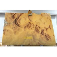 Jual Onix Putih Kuning Corak Gelombang Slab (O 189) Onyx Bubble Import 2