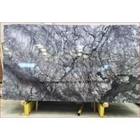 Marmer Violetta Marmer Biru Putih Marmer Import Turky-Slab 1