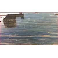 Distributor Marmer Portoro Gold Marmer Hitam Corak Abstak Marmer Hitam Import China-Slab 3