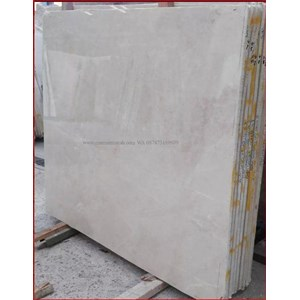 Marmer Moon Cream Marmer Cream Import-Slab