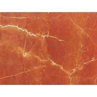 Marmer Rosso Alicante Marmer Merah Marmer Orange Marmer Italy-Slab 1
