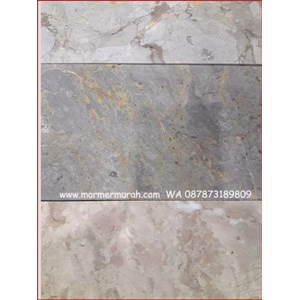 Marmer Bandung Abu Mix 15X15-20X20-20X30-20X40-30X40 Cm Marmer Grey Bandung-Cuci Gudang