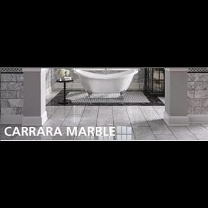Marmer Carrara Uk 15X30-20X30-30X30-30X60 Cm Marmer Putih Import Italy-Cuci Gudang