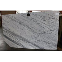 Marmer Statuario Venato Marmer Putih Import Italy Slab Murah 5