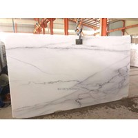 Distributor Marmer Statuario Classico Marmer Putih Import Italy Slab 3