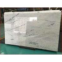 Beli Marmer Carrara Marmer Putih Import Italy Slab 4
