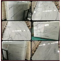 Marmer Carrara Marmer Putih Import Italy Slab 1