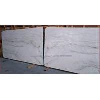 Marmer Volakas Marmer White Marmer Putih Import Slab 1