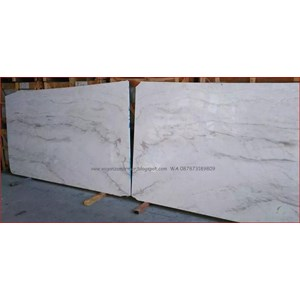 Marmer Volakas Marmer White Marmer Putih Import Slab