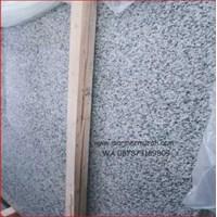 Granit Putih Bintik Hitam Bianco Perla Granit Alam China Murah 5