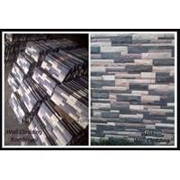 Distributor Batu Wall Cladding Kombinasi Batu Susun Sirih Mix Batu Cladding 3