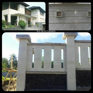 From Stone White Stone Bobos Rtm Rtm Local White Natural Stone Indonesia 0