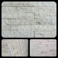 Jual Batu Putih Susun Sirih Batu Palimanan Putih Susun Sirih Batu Alam Putih Lokal
