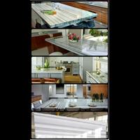 Meja Marmer Putih Import Ex Yunani Meja Dapur Meja Kitchen Meja Wastafel Meja Bar Meja Pantry Meja Counter Dll 1