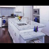Beli Meja Marmer Putih Import Ex Italy Dapur Meja Kitchen Meja Wastafel Meja Bar Meja Pantry Meja Counter Dll 4