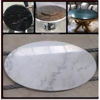 Top Marmer Meja Bulat Marmer Import Segala Macam Type Dan Warna 1