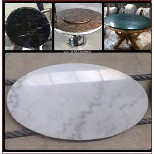 Top Marmer Meja Bulat Marmer Import Segala Macam Type Dan Warna