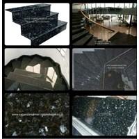 Jual Tangga Granit Hijau Tua Mata Kucing Import (T15)