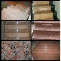 Jual Tangga Granit Merah Orange Import (T11)