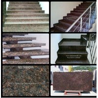 Jual Tangga Granit Coklat Tua Import (T12)