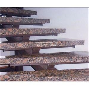 Dari Tangga Granit Coklat Tua Import (T12) 2