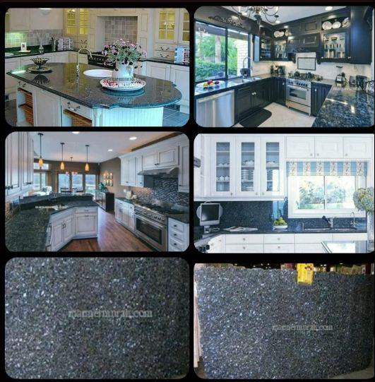 Jual Meja Granit Biru Mata Kucing Meja Dapur Kitchen