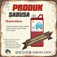 Distributor Obat Pembersih Jamur Kaca Body Pembersih Kerak Kaca Body SABUSA 1 Liter 3