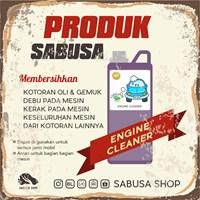 Distributor Pembersih Mesin Mobil SABUSA 1 Liter 3