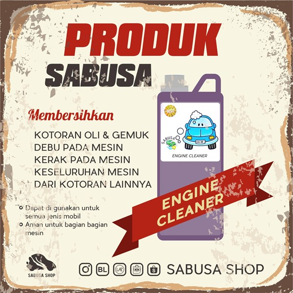 Engine Cleaner & Degreaser 1 Liter