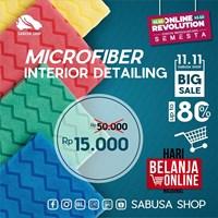 Lap Microfiber Scrubber For Interior Detailing