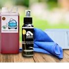PAKET EKSTERIOR Pembersih Jamur Kerak Kaca Body Lap Microfiber Eksterior Dan Kaca Quick Wax Dll 1