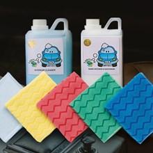 Paket Perawatan Interior Cleaner Dressing Pembersih Interior Mobil Dashboard Plafon Lap Microfiber
