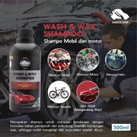 SABUSA Wash & Wax Shampoo 500ml