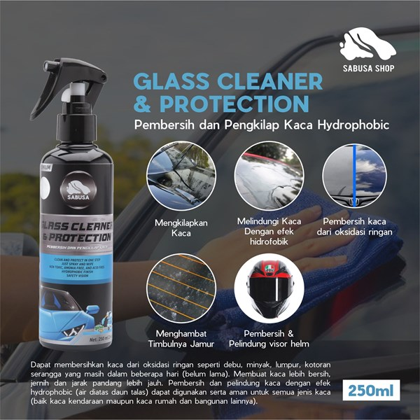 SABUSA Glass Cleaner & Protection 250ml