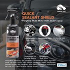 SABUSA Quick Sealant Shield Spray Guard Protection Pengkilap Mobil Motor Helm Hidrofobik Premium Sealant 250ml Pengkilap Body Mobil  1